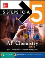 AP Chemistry, 2016