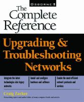 Upgrading & Troubleshooting Networks
