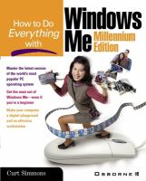 How to Do Everything With Windows Me