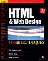 HTML & Web Design
