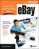 How to Do Everything With EBay