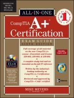 CompTIA A+ Certification Exam Guide