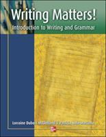 Writing Matters Introduction To Writing And Grammar (1st)