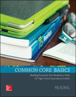 Common Core Basics
