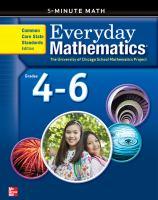 Everyday Mathematics. Grade 4-6