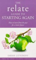 The Relate Guide to Starting Again