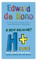 H+ ( Plus) - A New Religion?