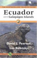 Ecuador and Its Galapagos Islands