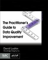 The Practitioner's Guide to Data Quality Improvement
