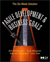 Agile Development & Business Goals