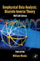 Geophysical Data Analysis