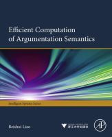 Efficient Computation of Argumentation Semantics