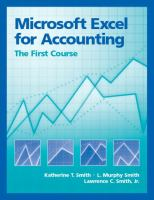 Microsoft Excel for Accounting
