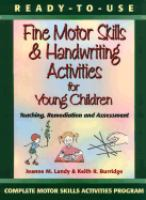 Ready-to-use Fine Motor Skills & Handwriting Activities for Young Children