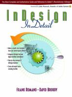 InDesign in Detail