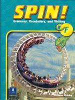 Spin! Grammar, Vocabulary, and Writing