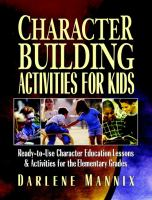 Character-building Activities for Kids