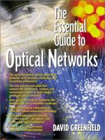 The Essential Guide to Optical Networks
