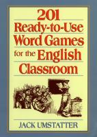 201 Ready-to-use Word Games for the English Classroom