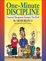 One-minute Discipline