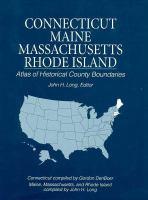 Atlas of Historical County Boundaries