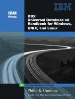 DB2 Universal Database V8 Handbook for Windows, Unix, and Linux