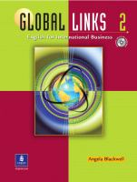 Global Links 2 [includes Audio CD and Phrase Book]