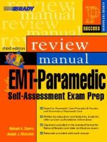 Prentice Hall Health Review Manual for the EMT-Paramedic Self Assessment Exam Prep