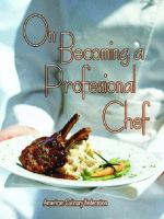 On Becoming A Professional Chef