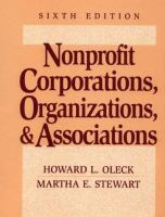Nonprofit Corporations, Organizations & Associations