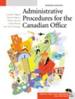 Administrative Procedures for the Canadian Office