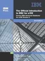 The Official Introduction to DB2 for Z/OS, Second Edition