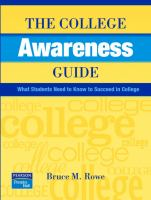 The College Awareness Guide