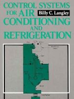 Control Systems for Air Conditioning and Refrigeration