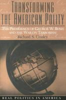 Transforming the American Polity