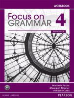 Focus on Grammar 4