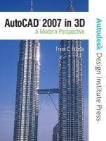 AutoCAD 2007 in 3D