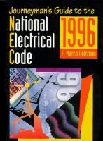 Journeyman's Guide to the National Electrical Code