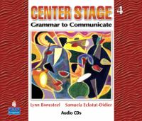 Center Stage 4 [includes Audio CDs]