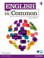 English in Common 4 [includes CD]