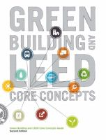 Green Building and LEED Core Concepts Guide