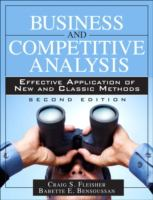 Business and Competitive Analysis
