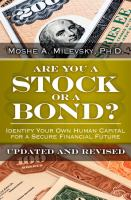 Are You A Stock or A Bond?
