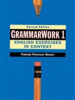 Grammarwork 1
