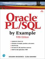 Oracle PL/SQ by Example