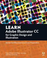 Learn Adobe Illustrator CC for Graphic Design and Illustration