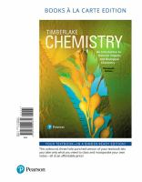 Chemistry An Introduction To General, Organic, And Biological Chemistry (Text - 13th)
