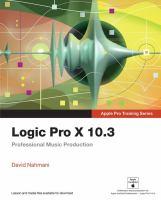 Logic Pro X 10.3