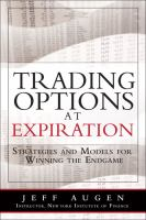 Trading Options at Expiration