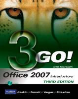 Go! With Microsoft Office 2007